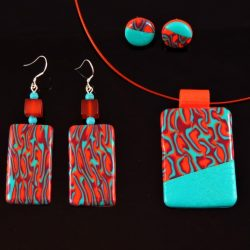 Pendant and Earrings Set